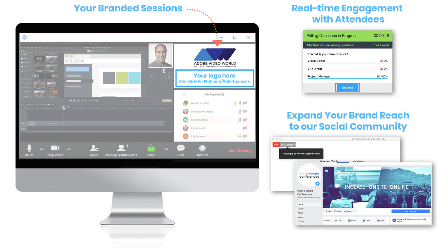 Branded session examples